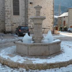 16-Trèves en Hiver, la fontaine