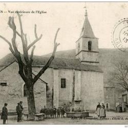 8-Trèves ancien, L'église