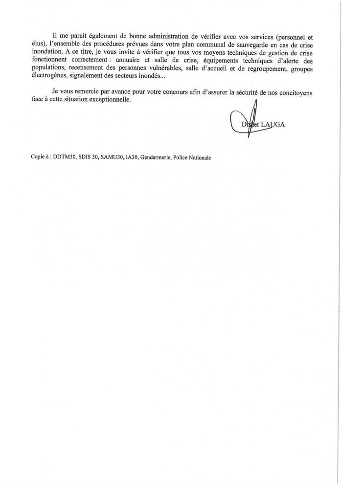 2 lettre aux maires septembre 2019